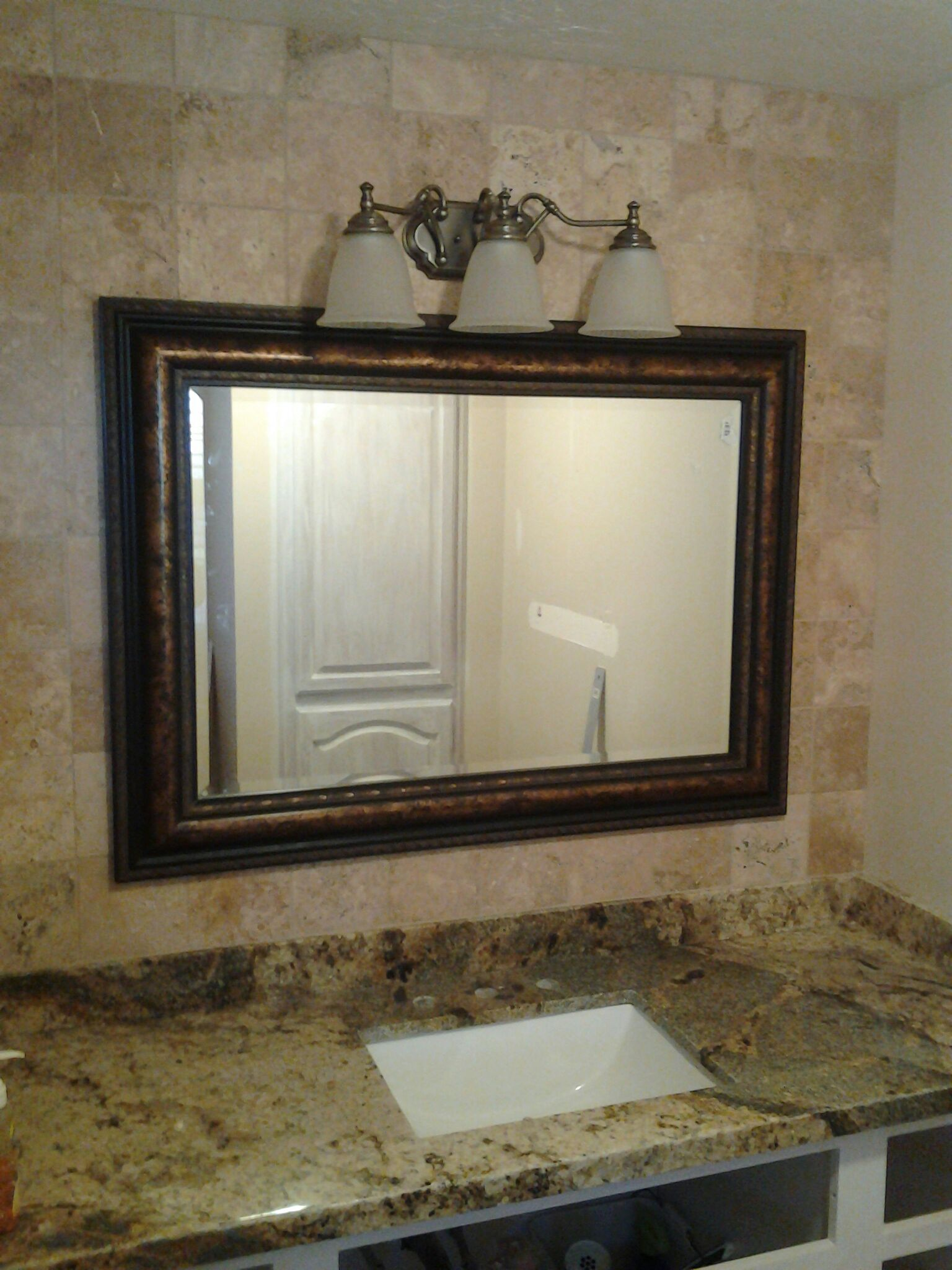 Bathroom vanity granite countertops utah for Granite bathroom vanity